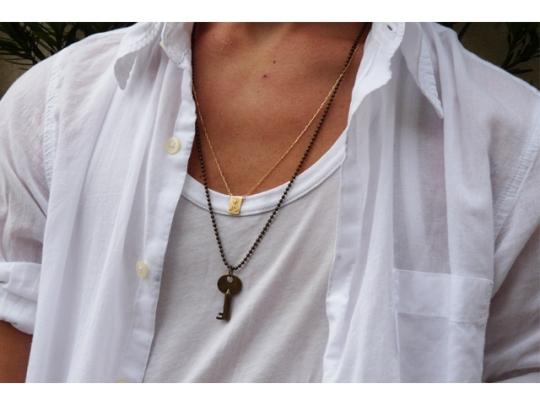 colar masculino