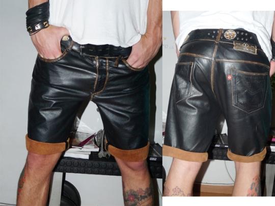 shorts de couro forum