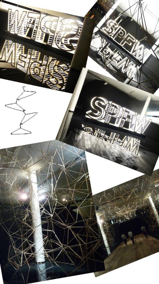 decoração spfw 2011
