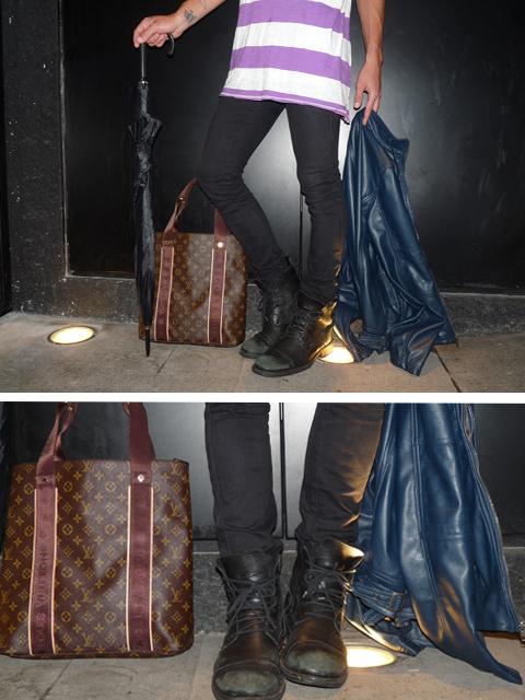 botas ellus e bolsa louis vuitton