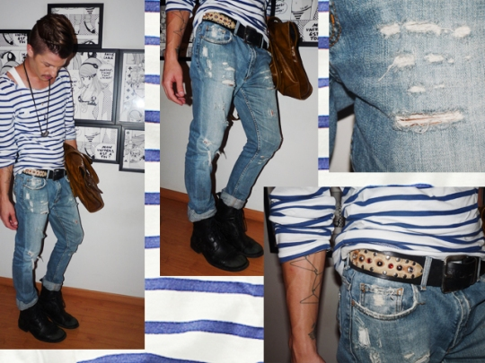 fashion men blog | vistuissu | navy